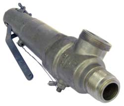 Клапаны латунные 17б2бк предохранительные угловые